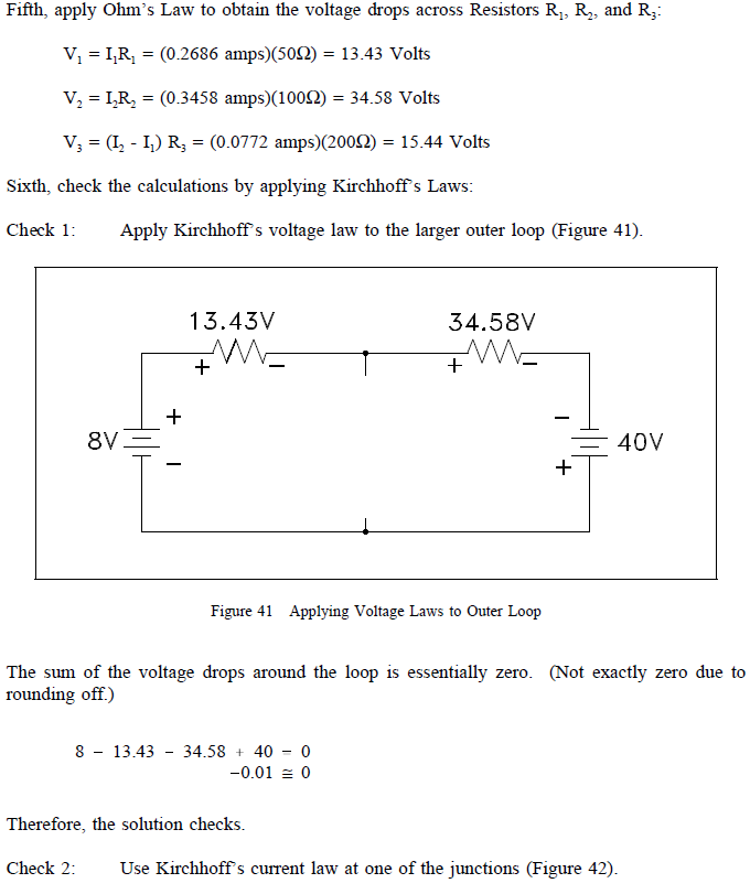 kirchhoffs voltage law